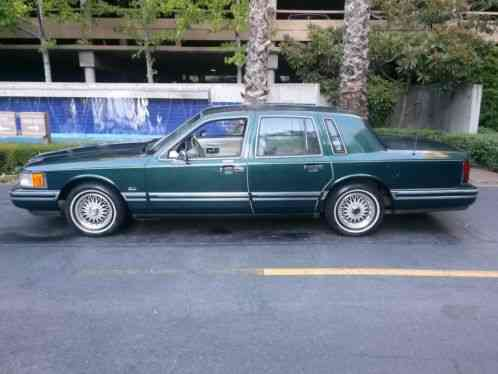 Lincoln Town Car Jack Nicklaus Signature Series 1992 All Car For Sale