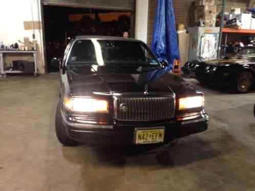 Lincoln Town Car Limo 1995 Stretch Custom 6 Door With 48k Original
