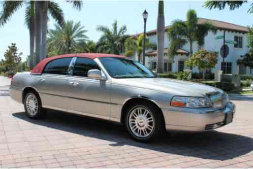 Lincoln Town Car Ultimate Designer Touring Sedan 2007 Welcome To A