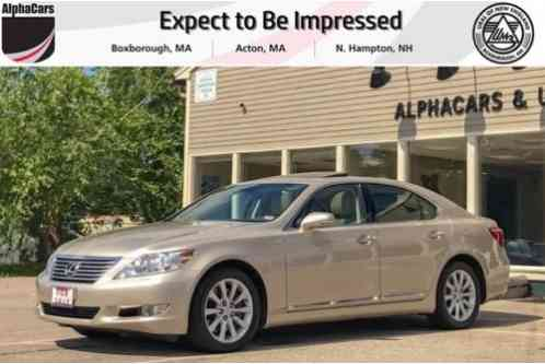 2011 Lexus LS All Wheel Drive