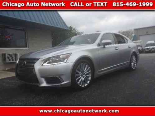 Lexus LS Luxury Sedan AWD (2014)