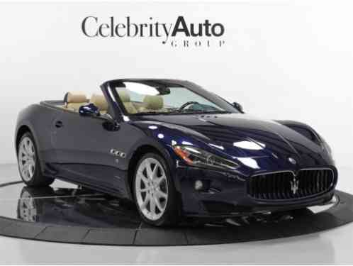 maserati gran turismo sport 2012 convertible 2 door. Black Bedroom Furniture Sets. Home Design Ideas