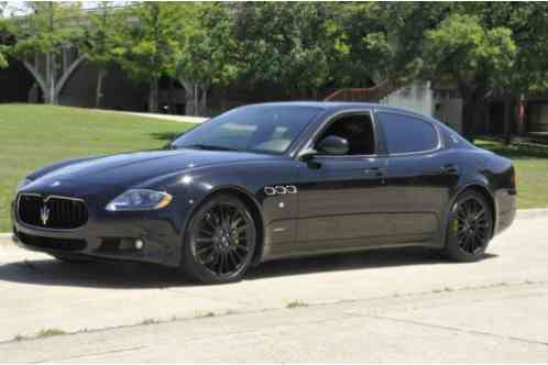 Maserati Quattroporte Gts 2010 Up For Sale This Beautiful Sport In Very