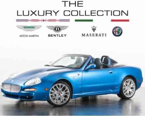 Maserati Spyder 90th Anniversary 2005, Cambiocorsa Vital Information
