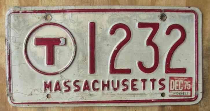 Ma Car Registration: 1937 Massachusetts Car License Plates ORIGINAL PAINT PAIR