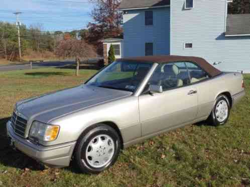 mercedes benz e class 1995 1994 mercedes benz e320 cabriolet this is a saleofcar com