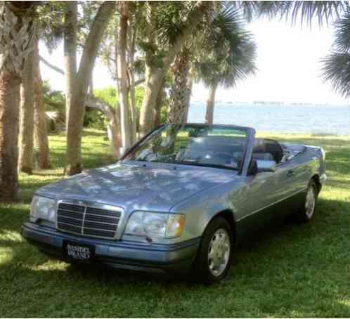 mercedes benz e class 1994 this classic mercedes benz e320 convertible saleofcar com