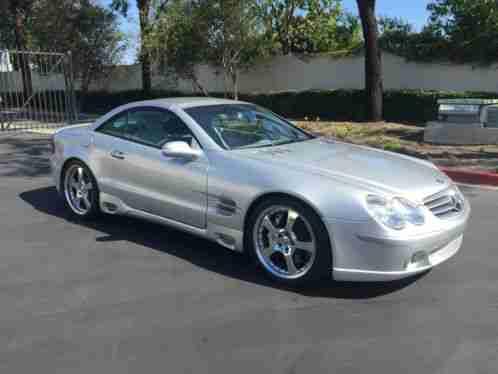 Mercedes Benz Sl Class Sl55 Amg Kompressor 2003 Make Mercedesmodel W