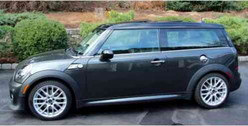 Mini Clubman John Cooper Works 2014 S With Exterior Package As Well As