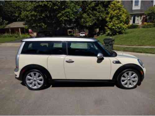Mini Clubman 2008 Pepper White S Silver Top With Silver Racing Stripes