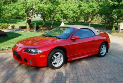 mitsubishi eclipse 1998 all original gs spyder with only 30 155 actual mitsubishi eclipse 1998 all original