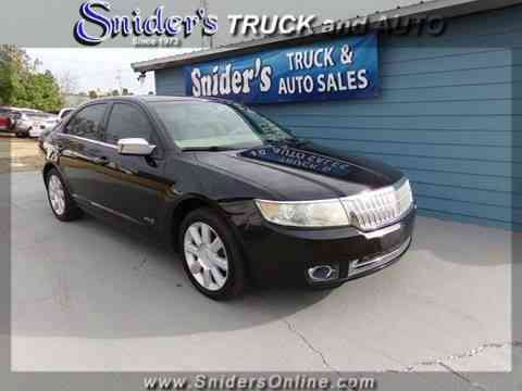 Lincoln MKZ/Zephyr Base 4dr Sedan (2008)