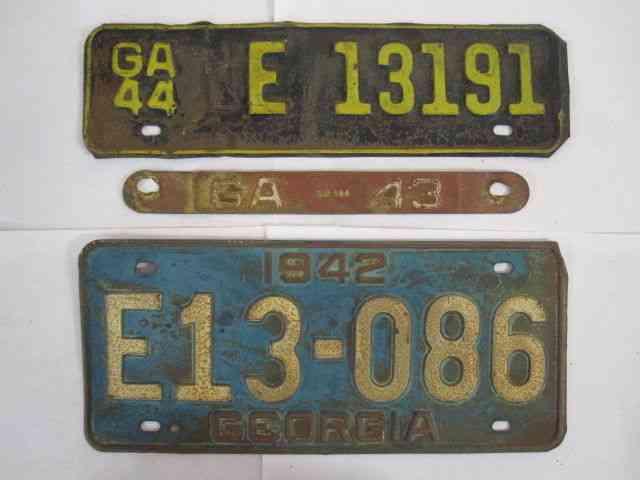 Hawaiian Tag: NICE 1942 Hawaii License Plate Tag