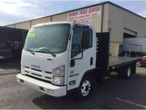 2012 Isuzu NPR HD DSL WHITE CAB IBT AIR PWL