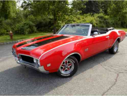 Oldsmobile 442 1969 OLDS Convertible Real Deal 344 Vin Number Rally