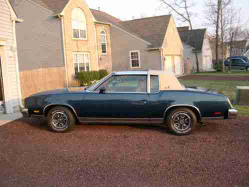 Oldsmobile Cutlass CALAIS 1979, OLDS T-TOPS WORKED THIS IS A