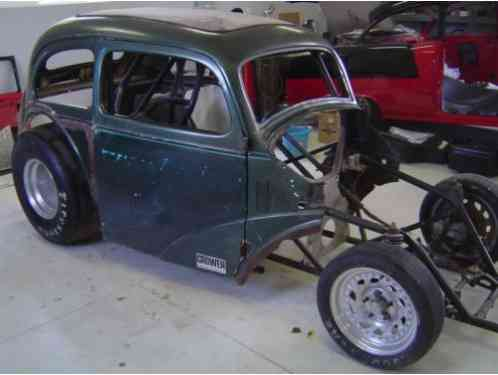Other Makes 1948 Anglia Pro Built Tube Frame Tig Welded 9 Inch Ford