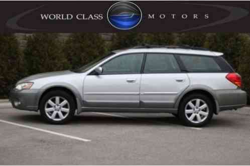Subaru Outback 2. 5i Limited Wagon (2006)