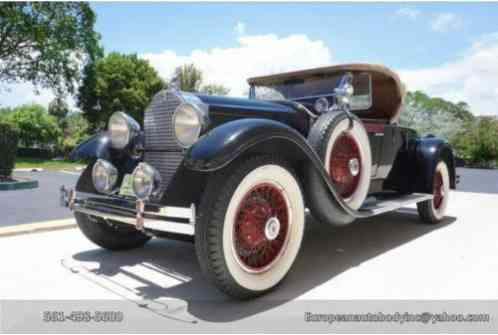 Packard Eight Roadster (1929)