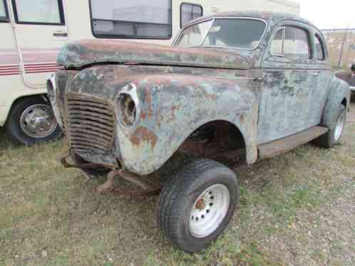 Plymouth 1941 Coupe In Good Solid Cond Very Straight