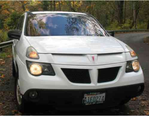Pontiac Aztek Premium Rally Versatrak Awd 2004 All Wheel Drive 4wd