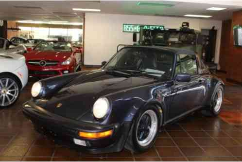 1987 Porsche 911 Targa Wide Body