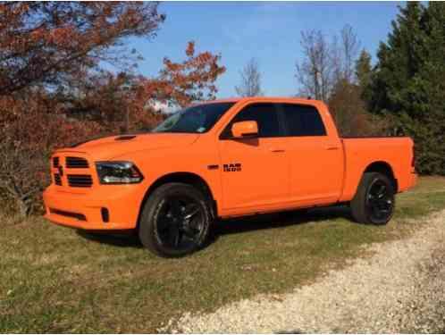 Ram 1500 Ignition Orange Special Edition 2015 I Am