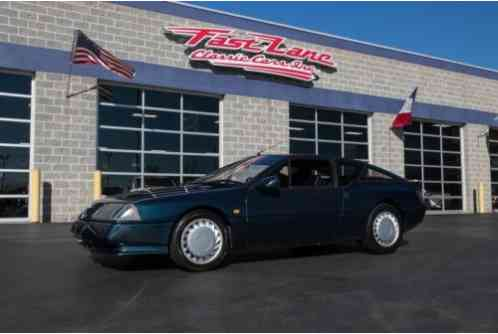 1990 Renault Renault Alpine GTA Ask About Free Shipping!