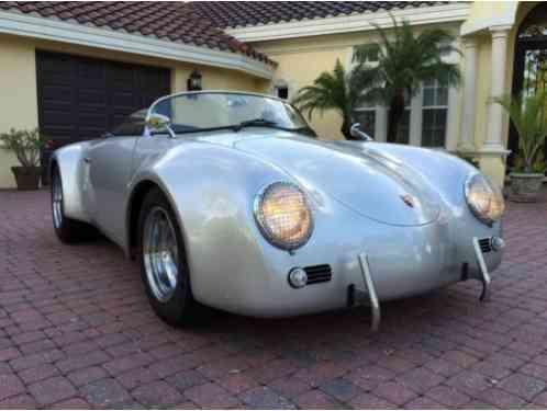 Replica Kit Makes Super Widebody Porsche Speedster 1966 Vintage S 356