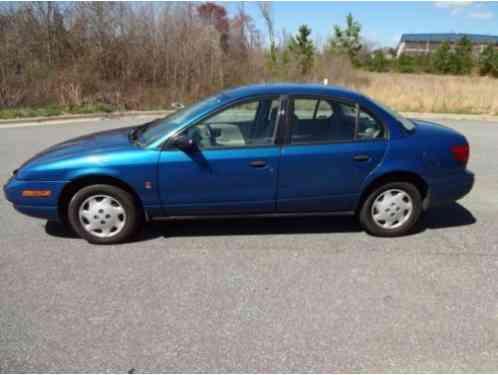 2001 Saturn Sl1 >> Saturn S Series Sl1 2001 4 Door Sedan Exterior Color Blue