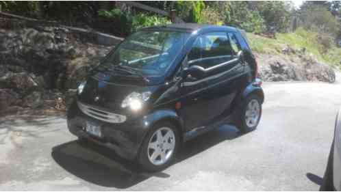 Smart Fortwo 450 Cdi Turbo Diesel Fortwo 450 Cabriolet 2006 Car
