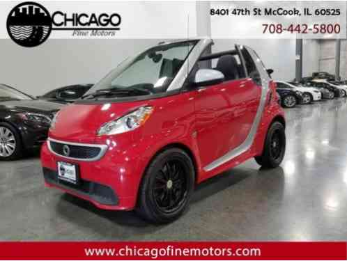 Smart Fortwo passion cabriolet (2013)