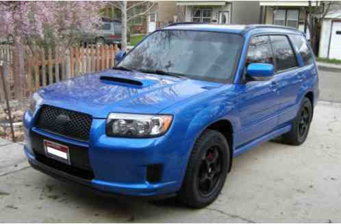 Subaru Forester 2007 Sports Xt 88 000 Miles Auto World Rally Blue