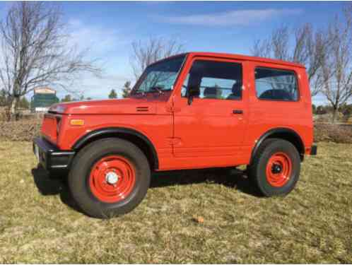 Hyundai Of Yuma >> Suzuki Samurai SJ4 1984, The motor home has been sold ...