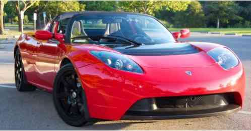 Tesla Roadster 2010 2 0 Sport Fusion Red With Black