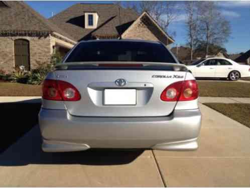 2005 Toyota Corolla Xrs >> Toyota Corolla Xrs 2005 4d Good Condition Requiring No