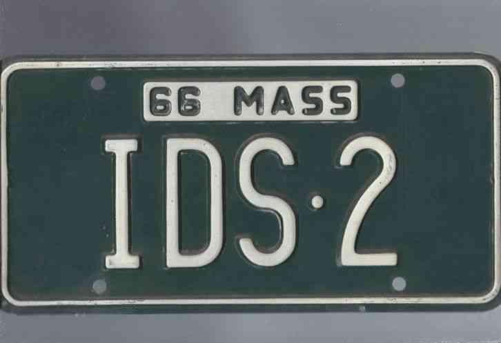 Ma Car Registration: 6 Rusted MA License Plates