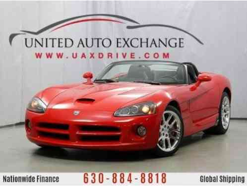 Dodge Viper SRT10 convertible (2005)