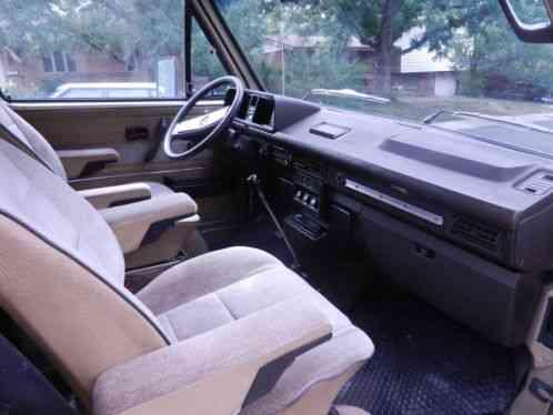 Volkswagen Bus/Vanagon Syncro (1987)