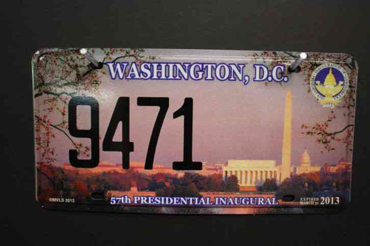 Arizona State License Plate >> WASHINGTON DC - DISTRICT of COLUMBIA license plate 2013 EN