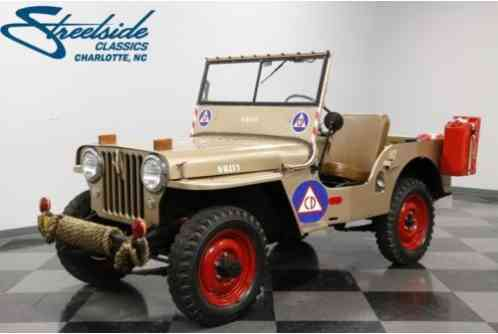 Willys Jeep CJ-2A (1946)
