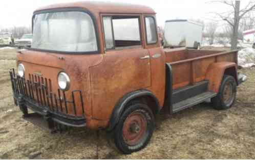 Willys Jeep Fc 170 1958 Rare Truck Ready To Build 58 Forward Control