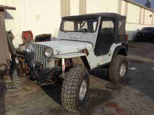 Flat Fender Jeep >> Willys Jeep 1946 Flat Fender Mechanically Sound Runs Great And Car