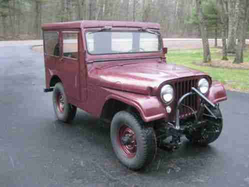 Willys 1955 Up For Auction Is This Very Nice 55 Jeep Cj5