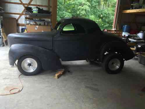 Willys Willys 1941 41 Coupe Fiberglass Body Includes